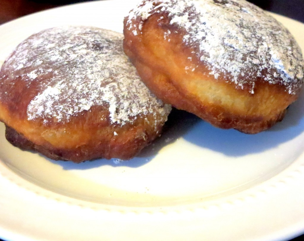 Maple Bourbon Sufganiyot