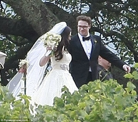 Seth Rogan Jewish Wedding