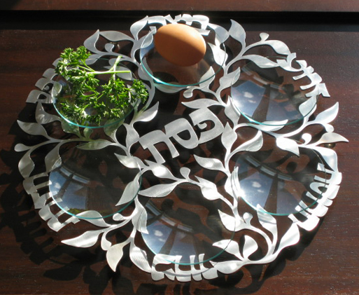 Melanie Dankowicz's Spring Seder Plate