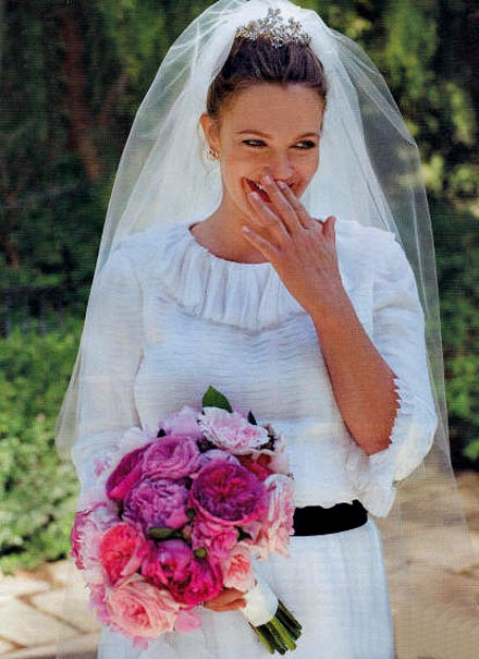 Drew Barrymore's Jewish Wedding