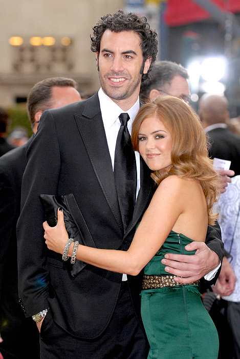 Sacha Baron Cohen & Isla Fisher Jewish Wedding