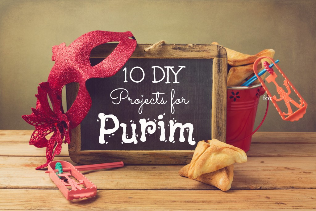 10 DIY Projects For Purim