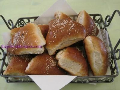 Hamentashen Challah Rolls