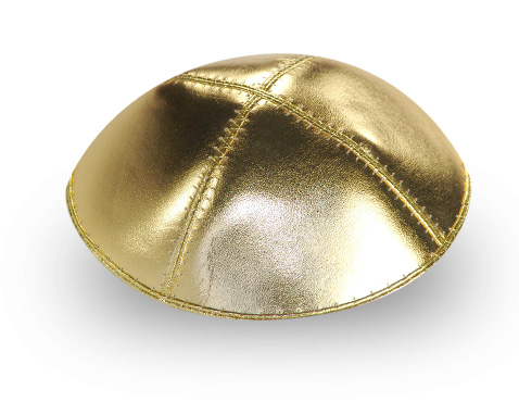 Gold Kippah | The Big Fat Jewish Wedding