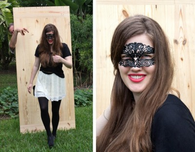 DIY Masquerade Mask For Purim