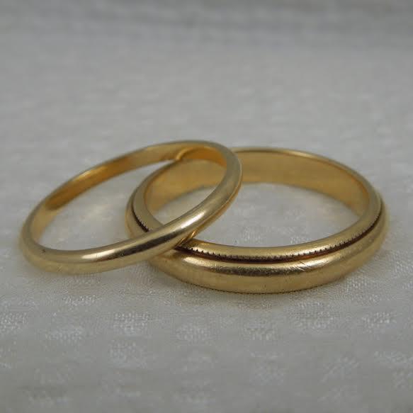 gold wedding bands the big fat jewish wedding - Jewish Wedding Rings