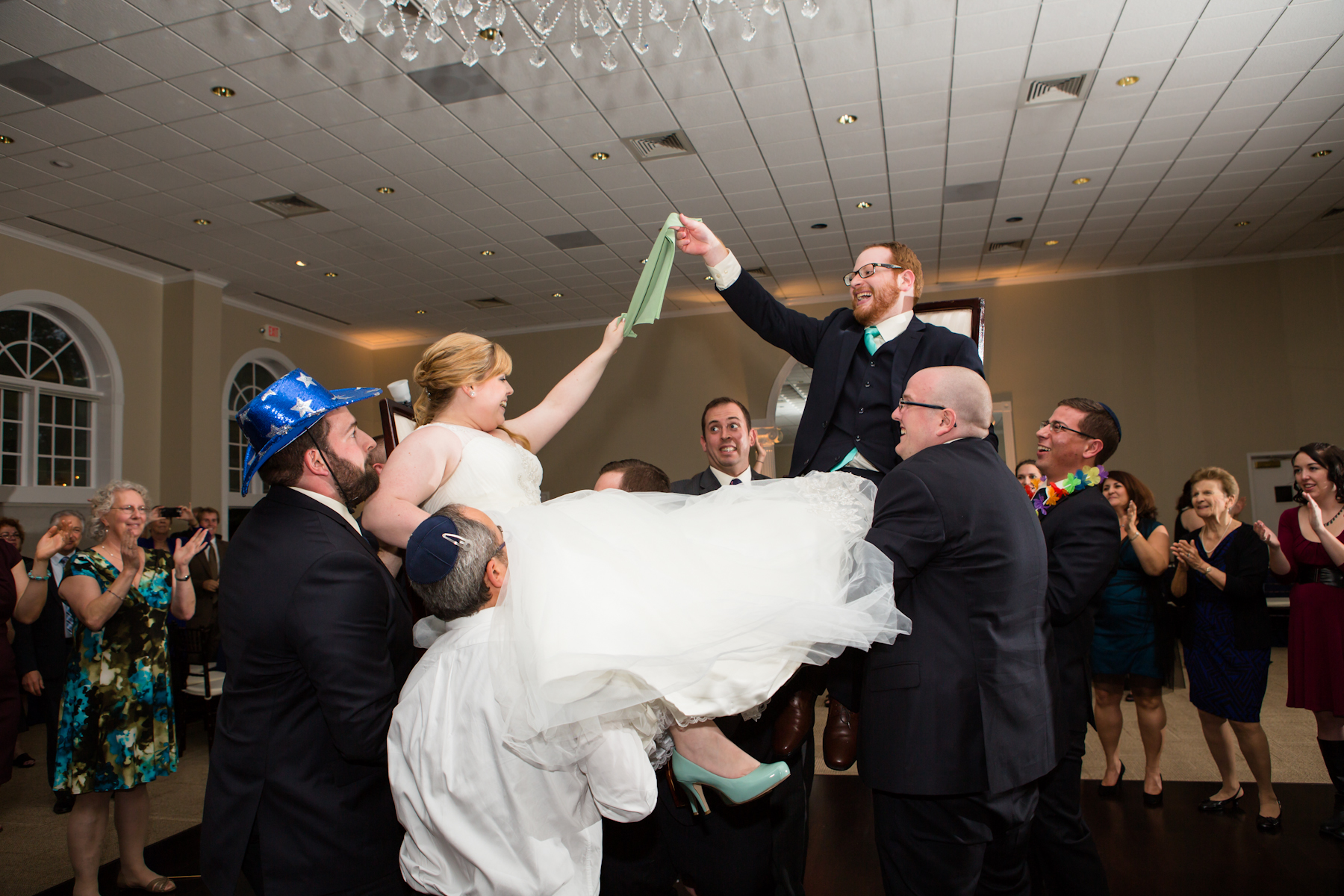 Chair Lift During The Hora | The Big Fat Jewish Wedding & How To Not Fall Out Of Your Chair During The Hora | The Big Fat ...