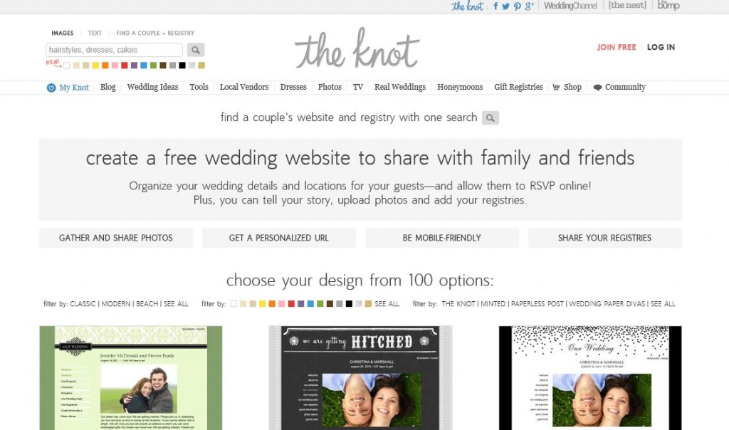 Wedding Websites | 13 Things Jewish Brides Love