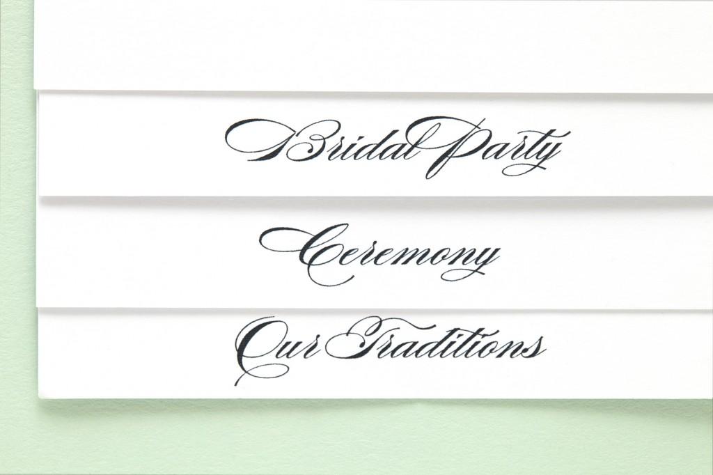 Nautical Inspired Jewish Wedding Invitations   Sugar & Type 3