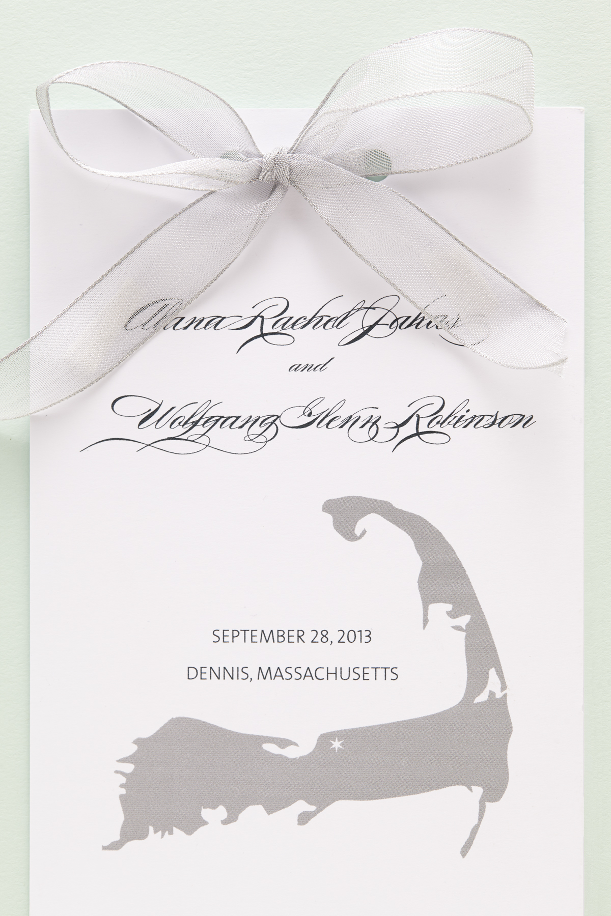 nautical inspired jewish wedding invitations sugar type 4 - Jewish Wedding Invitations