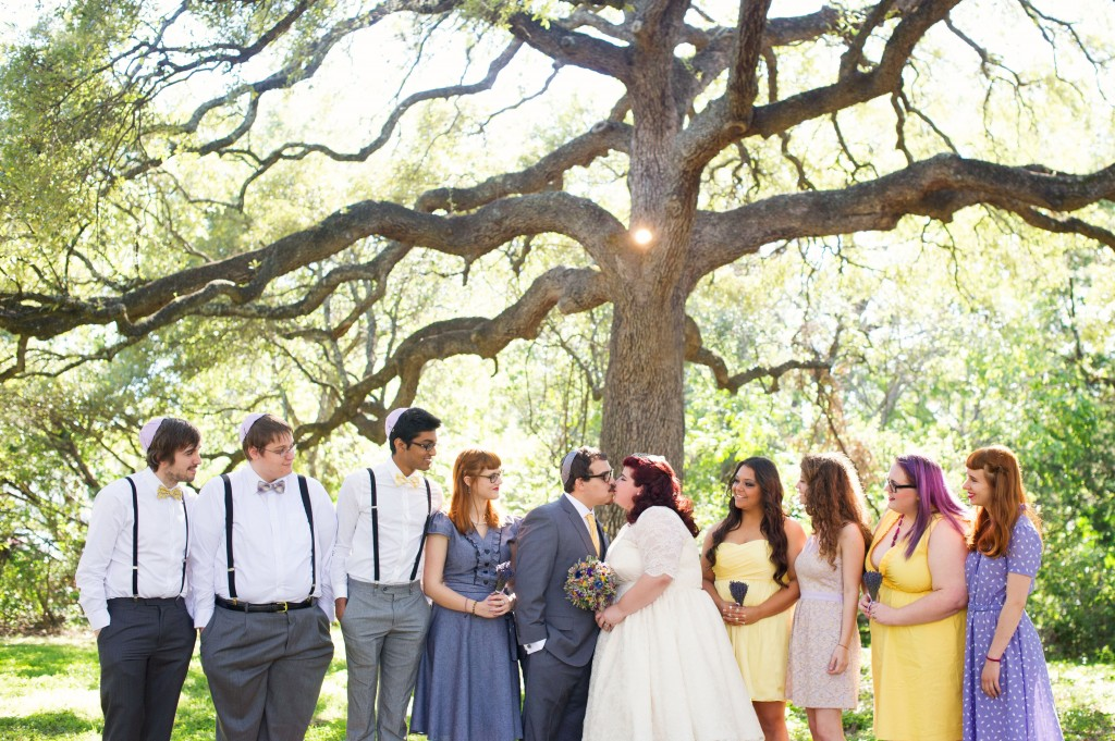 Vintage 50s Inspired Jewish Wedding | Jenna Leigh Photo 16