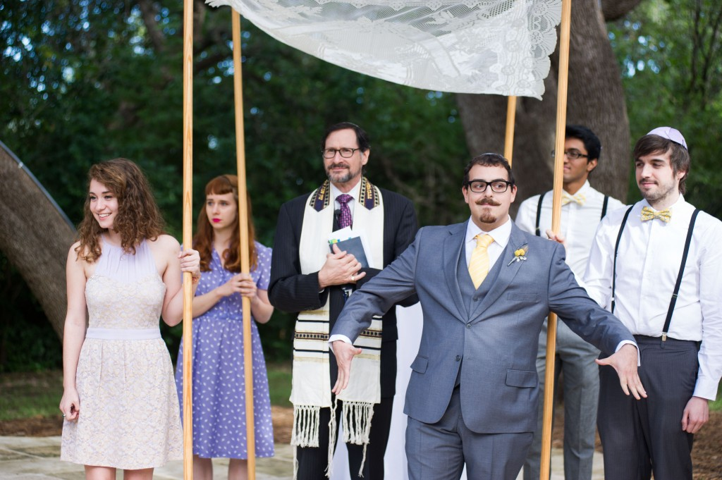 Vintage 50s Inspired Jewish Wedding | Jenna Leigh Photo 32