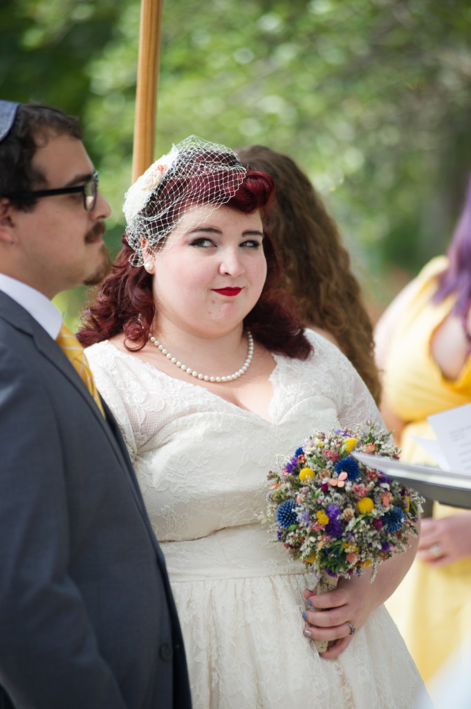 Vintage 50s Inspired Jewish Wedding | Jenna Leigh Photo 35