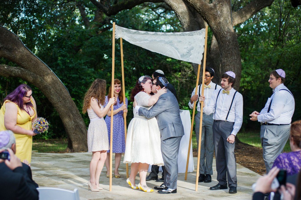 Vintage 50s Inspired Jewish Wedding | Jenna Leigh Photo 40