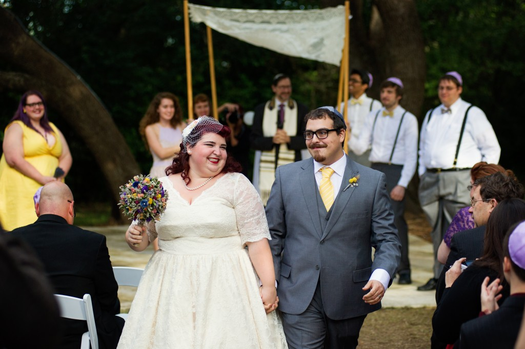 Vintage 50s Inspired Jewish Wedding | Jenna Leigh Photo 41