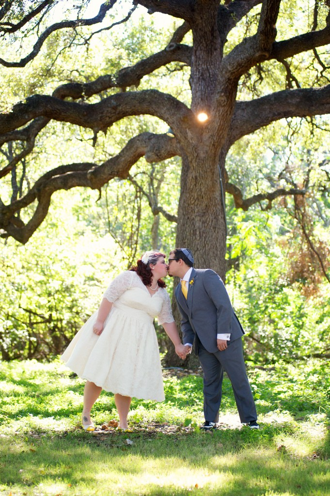Vintage 50s Inspired Jewish Wedding | Jenna Leigh Photo 7