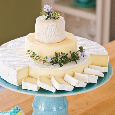 "Wedding Cheese ""Cake"""