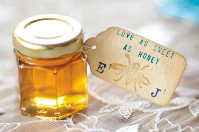 Love As Sweet As Honey Wedding Favors