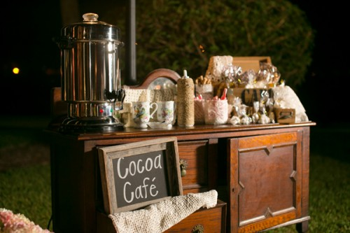 Wedding Hot Cocoa Bar