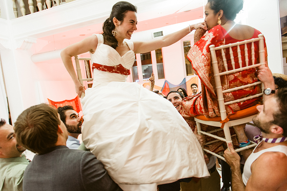 Beautiful Hindu Jewish Lesbian Wedding | M2 Photography 115