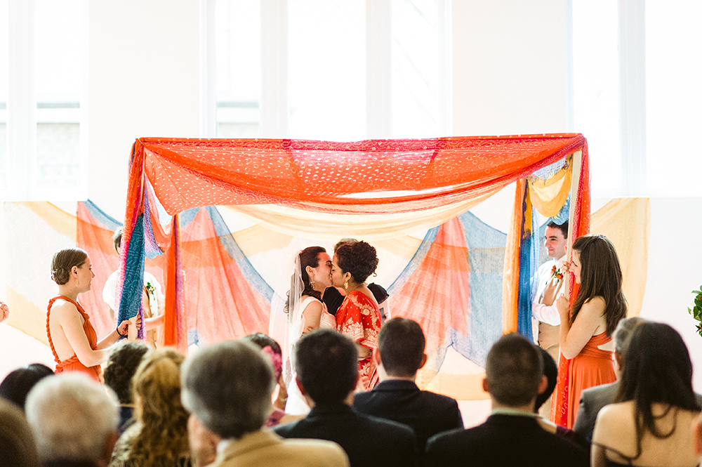 Beautiful Hindu Jewish Lesbian Wedding | M2 Photography 64