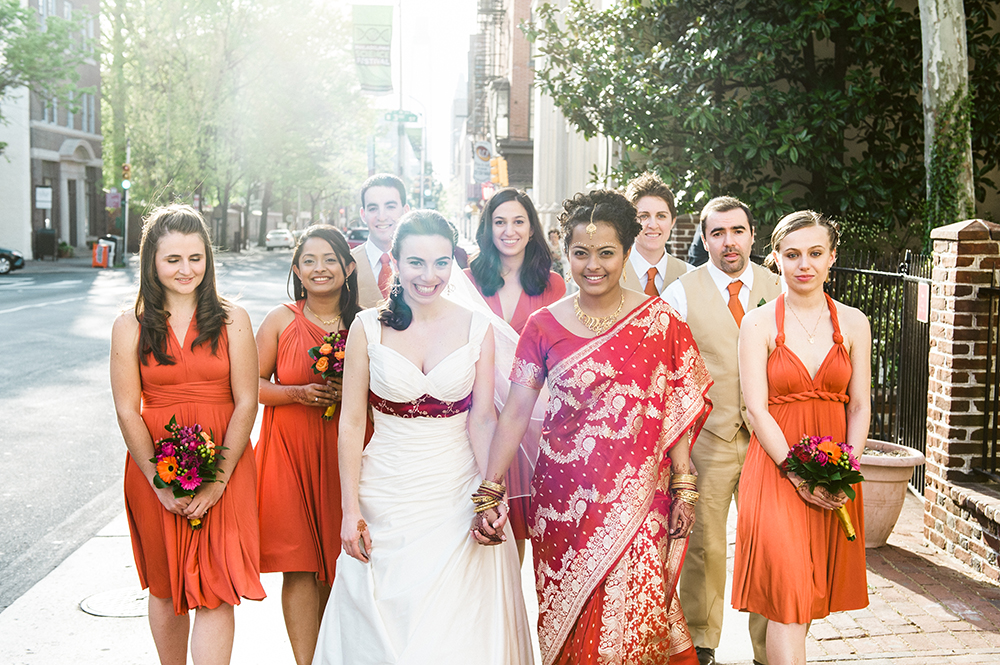 Beautiful Hindu Jewish Lesbian Wedding | M2 Photography 69