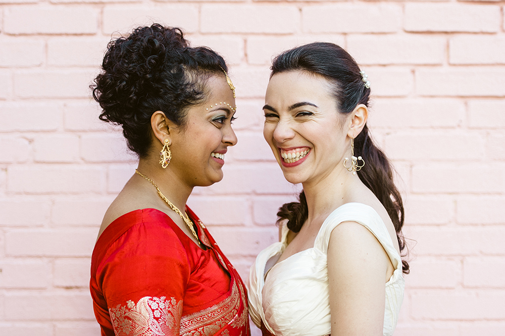 Beautiful Hindu Jewish Lesbian Wedding | M2 Photography 77