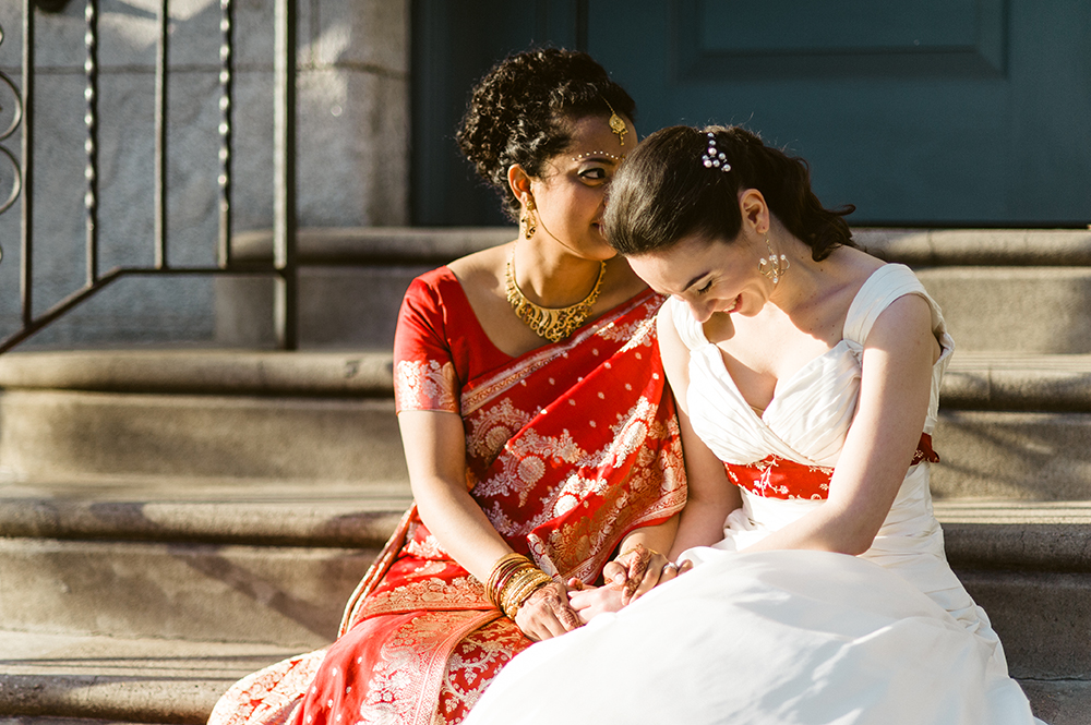Beautiful Hindu Jewish Lesbian Wedding | M2 Photography 78