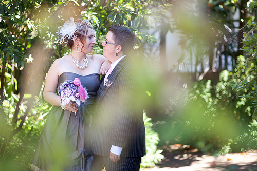 Bex & Cort's Queer Jewish Wedding