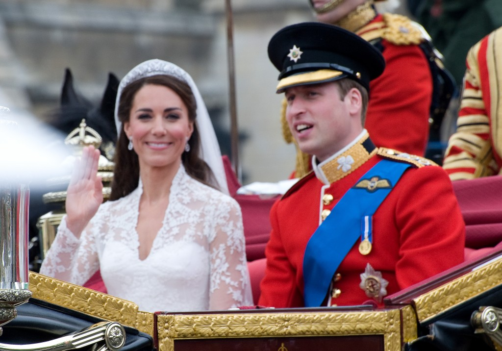 Princess Kate's Alexander McQueen Wedding Dress