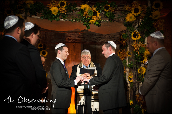 David & Craig's Gay Jewish Wedding