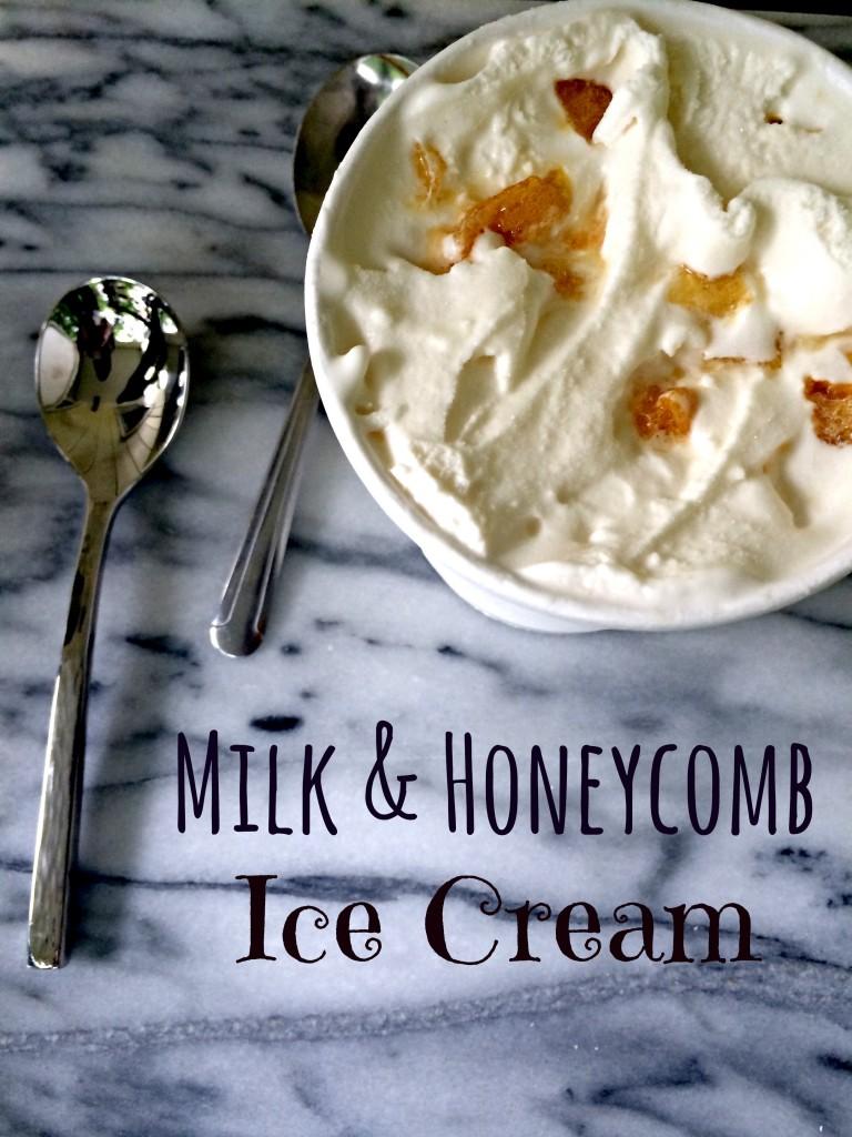 Milk & Honeycomb Ice Cream | The Big Fat Jewish Wedding