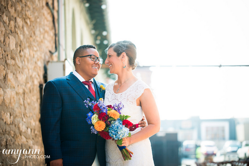 Tara + Tayo: Queer Jewish Wedding