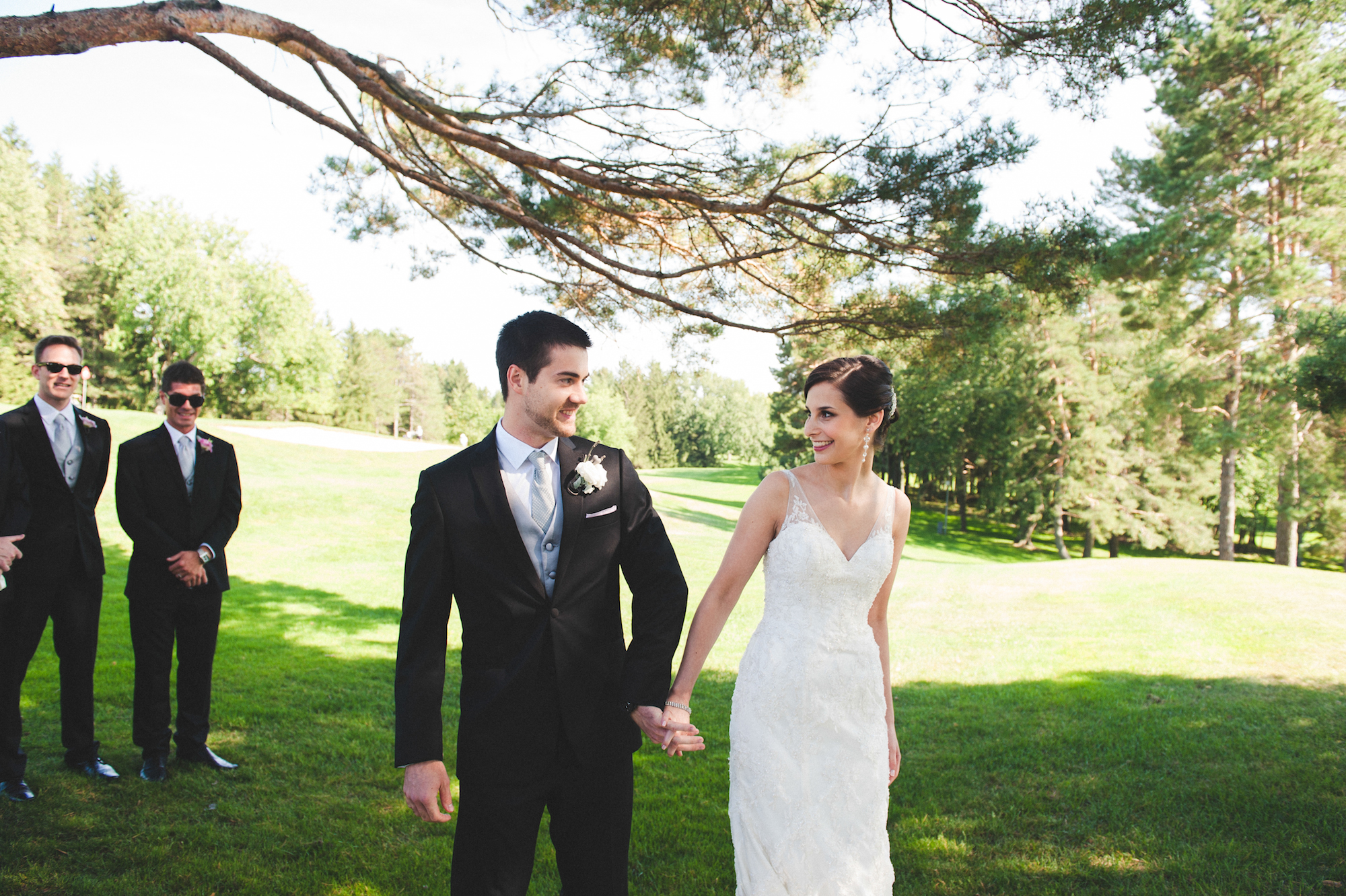 Classic Jewish Wedding At Hillsdale Country Club {Quebec