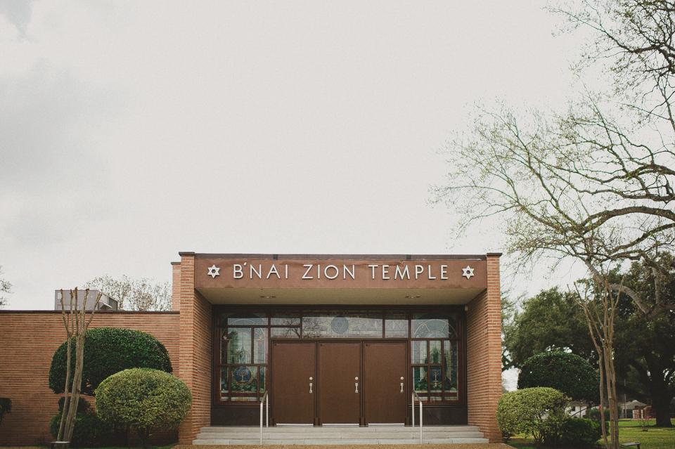 Jewish wedding in Louisiana
