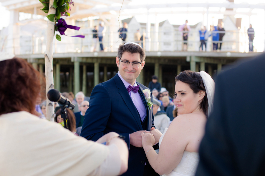 Violet Lilac Jewish Wedding | allie skylar photography 15