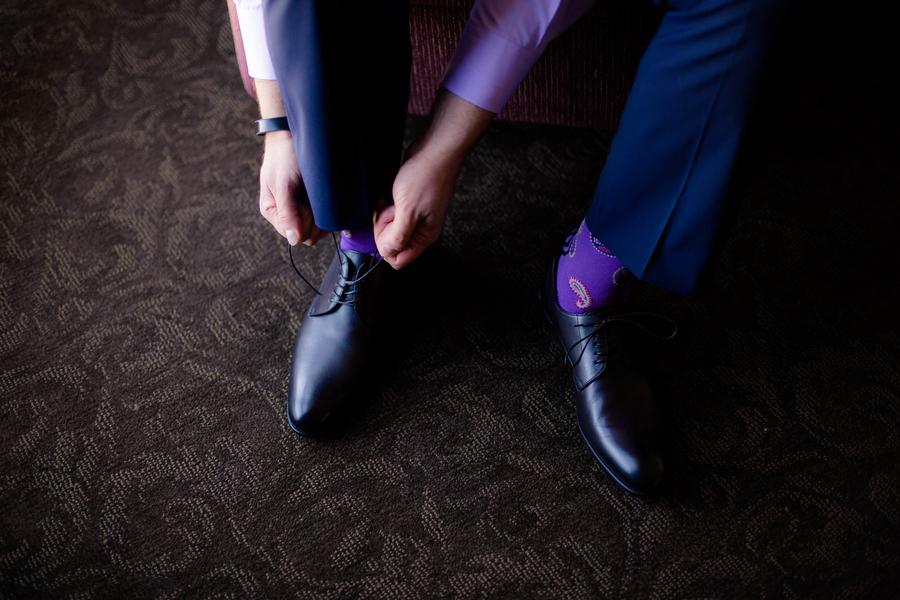 Violet Lilac Jewish Wedding | allie skylar photography 2