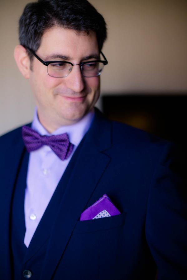 Violet Lilac Jewish Wedding | allie skylar photography 4