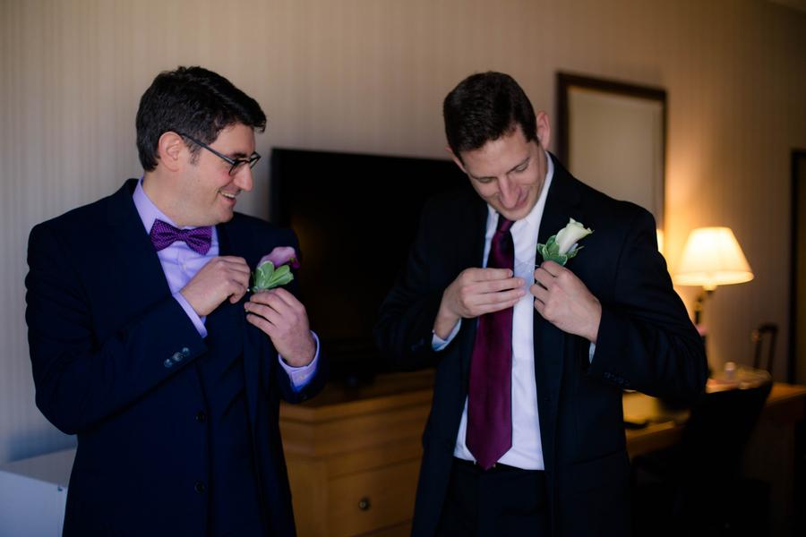 Violet Lilac Jewish Wedding | allie skylar photography 5