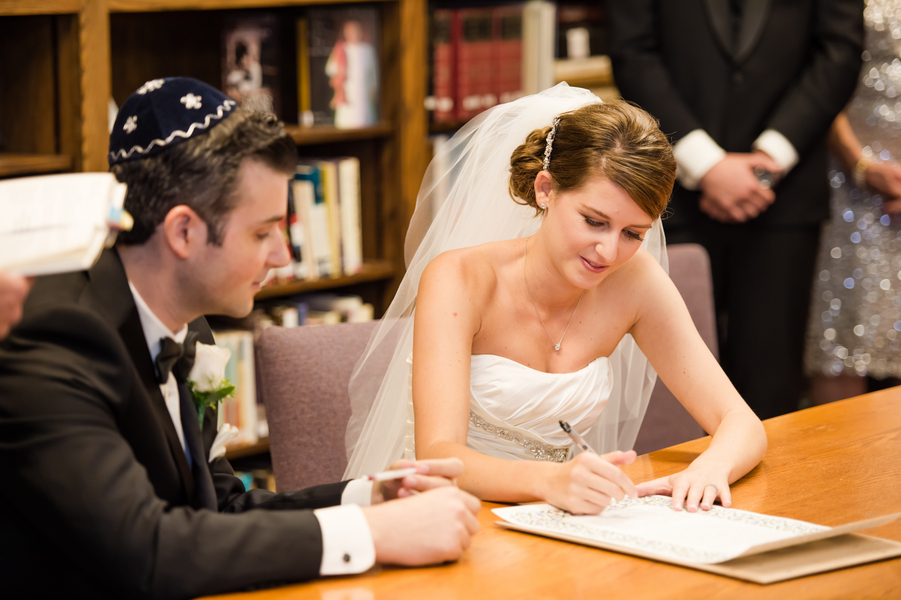 Country Club Jewish Wedding | Julie Nicole Photography 10