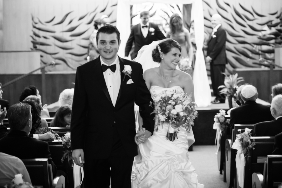 Country Club Jewish Wedding | Julie Nicole Photography 11