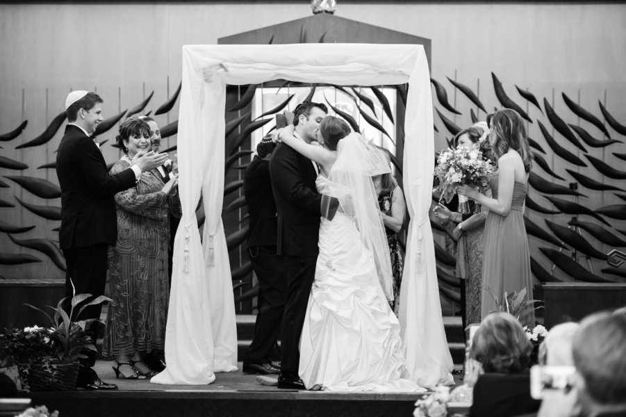 Country Club Jewish Wedding | Julie Nicole Photography 14
