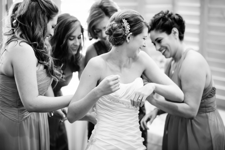 Country Club Jewish Wedding | Julie Nicole Photography 16