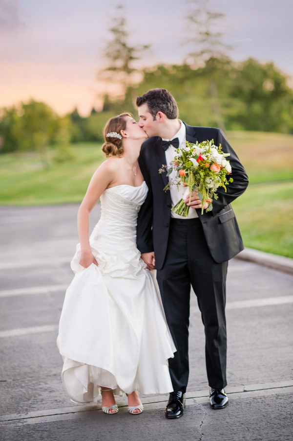 Country Club Jewish Wedding | Julie Nicole Photography 2