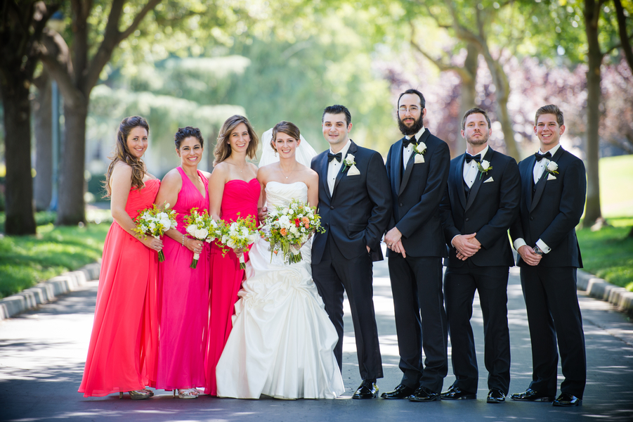 Country Club Jewish Wedding | Julie Nicole Photography 5