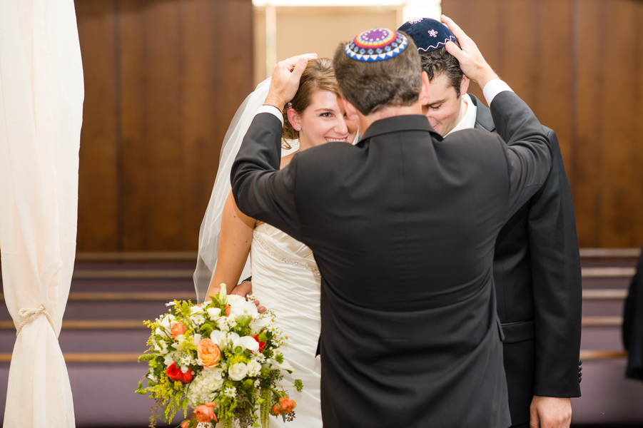 Country Club Jewish Wedding | Julie Nicole Photography 6