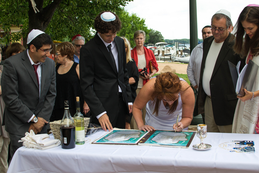Lakefront Yacht Jewish Wedding | Kelsey Thompson Photography10