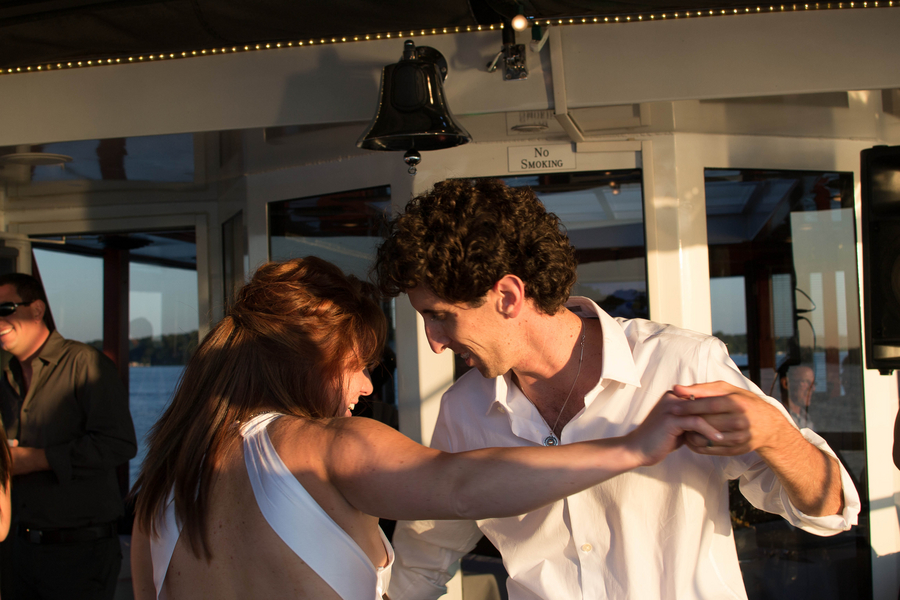Lakefront Yacht Jewish Wedding | Kelsey Thompson Photography24