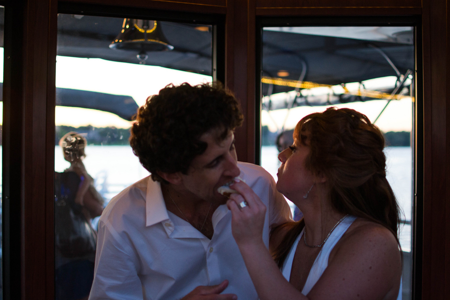 Lakefront Yacht Jewish Wedding | Kelsey Thompson Photography26