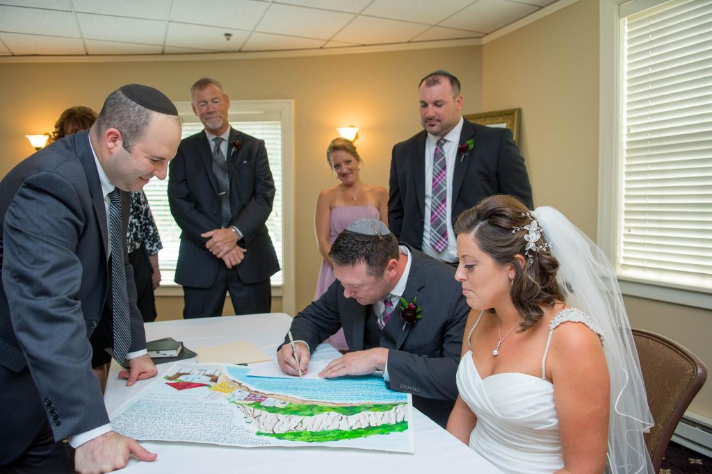 Artsy Glam Jewish Wedding | Coppersmith Photography 19